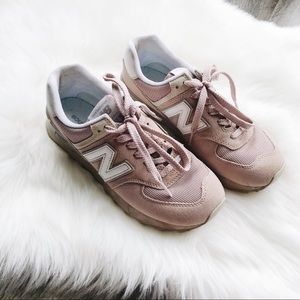 New Balance Pink Sneakers 8.5